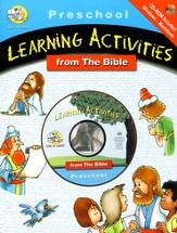 CD ROM Activity Book--Preschool