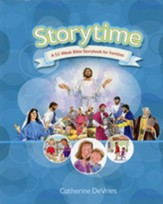 Storytime: A 52-Week Bible Storybook for Families - Slightly Imperfect