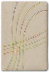 Biblia de Est. Arco Iris RVR 1960, Tela Bordado Multicolor, Ind.  (RVR 1960 Rainbow Study Bible, Multicolor Stitch Cloth, Ind.)