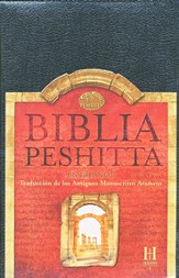 Biblia Peshitta, Piel Imitada, Negro, Ind.  (The Peshitta Bible, Imit. Leather, Black, Ind.) - Slightly Imperfect