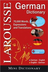 Larousse Mini Dictionary : German-English / English-German