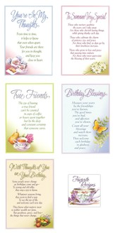 All Occasion Recipe Book Cards, Set of 15