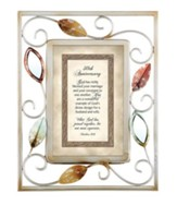 50th Anniversary, Matthew 19:6 Framed Print