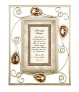 Marriage Prayer, Matthew 19:5 Framed Print