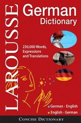 Larousse Concise German-English/English-German Dictionary