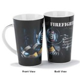 Firefighter Mug, A Caring Heart