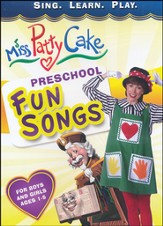 Miss PattyCake: Preschool Fun Songs, DVD