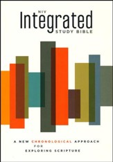 NIV Integrated Study Bible: A Chronological Approach for Exploring Scripture - Slightly Imperfect
