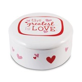The Greatest is Love Trinket Box