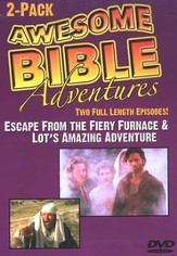 Awesome Bible Adventures: Escape from the Fiery Furnace & Lot's  Amazing Adventure, DVD