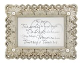 From This Day Framed Print, Silver