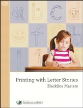 Printing with Letter Stories Black Line Masters