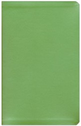 NIV Thinline Metallic Collection Bible, Green