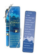 Come to Bethlehem Pen and Bookmark Gift Set