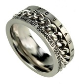 Chain Ring, Courageous, Size 8