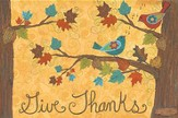 Give Thanks--Floor Mat