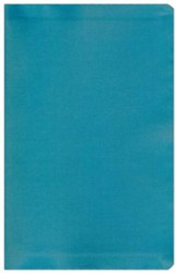 NIV Sleek and Chic Collection Bible, Flexcover, Surreal Teal - Imperfectly Imprinted Bibles