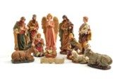 Tabletop Nativity Set, 12 pieces