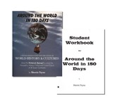 Around the World in 180 Days 1st Edition Kit (Teacher's Guide & Loose-Leaf Student Worksheets)