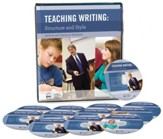 Teaching Writing: Structure and Style--12 DVD's and  Workbook (2nd Edition)