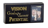 Success, Goals, Vision, Potential Graduation Photo Box Clock