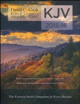 David C. Cook KJV Bible Lesson Commentary 2015-16