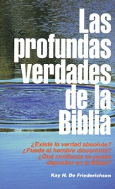 Las Profundas Verdades de la Biblia  (God's Word Made Plain)