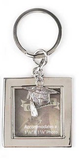 Graduation Photo Keyring