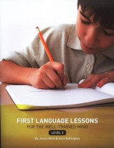 First Language Lessons for the Well-Trained Mind,  Level 3--Teacher's Edition