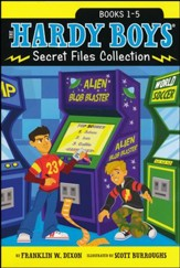 The Hardy Boys Secret Files Collection: Trouble at the Arcade; The Missing Mitt; Mystery Map; Hopping Mad; A Monster of a Mystery / Combined volume