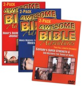 Awesome Bible Adventures, 3 DVDs
