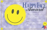 Happy Face Award (Pack of 25)