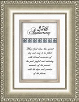 25th Anniversary Framed Print