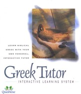 Greek Tutor Multimedia CD-Rom  - Slightly Imperfect