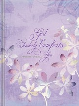 God Tenderly Comforts You Journal