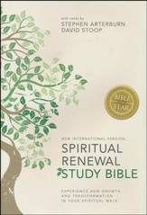 NIV Spiritual Renewal Study Bible, Hardcover, Jacketed  Printed