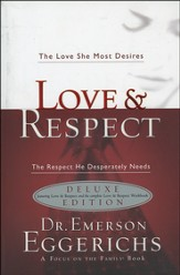 Love & Respect Book and Workbook - 2 in 1  - Slightly Imperfect