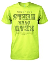 Head Over Heels Shirt, Green, Medium