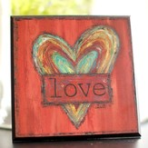Heart Plaque, Love