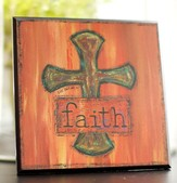 Cross Plaque. Faith