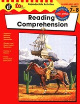 The 100+ Series: Reading Comprehension, Grades 7-8