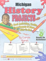 Michigan History Project Book