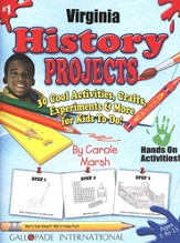 Virginia History Project Book, Grades 3-8