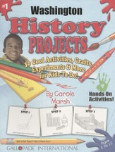 Washington History Project Book, Grades 3-8