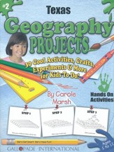 Texas Geography Project Book, Grades 3-8