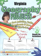 Virginia Geography Project Book, Grades 3-8