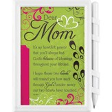 Dear Mom Memo Pad and Pen