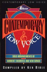 Contemporary Low Voice
