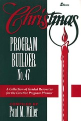 Christmas Program Builder, # 47