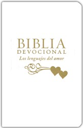 Biblia Devocional NTV Los Lenguajes del Amor, Blanco, The Love Languages Devotional Bible, White